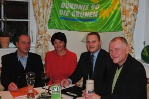 Gründungsfoto Ortsverband Neunkirchen am Brand von Bündnis 90/Die Grünen