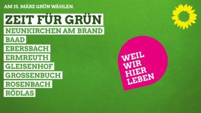 Kommunalwahl 2020 - Grüne Neunkirchen am Brand